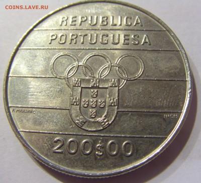 200 эскудо 1992 олимпиада Португалия №1 10.01.2017 22:00 МС - CIMG7559.JPG