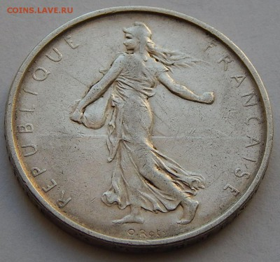Франция 5 франков 1961 Сеятельница, до 25.01.17 в 22:00 МСК - 3870