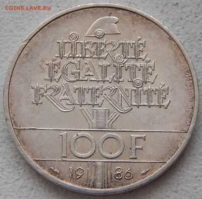Франция 100 франков 1986 Статуя Свободы, до 25.01. в 22:00 М - 3887.JPG