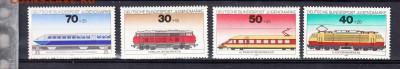 ФРГ 1975 локомотивы - 11д