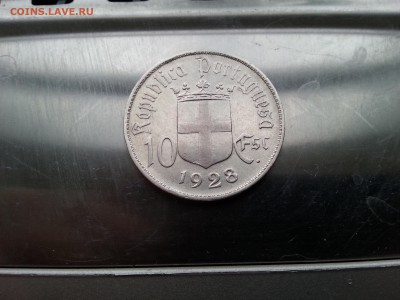 Португалия 10 эскудо 1928 Битва при Оурике до 22 03.02.17 - 20170131_154006
