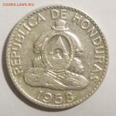 Гондурас, 20 сентаво, 1958 до 6.02.17г. - гондурас2