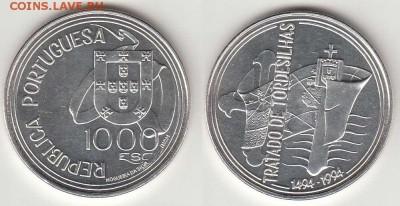 С 1 рубля Португалия 1000 эскудо до 14.02. 22-00 мск - 9
