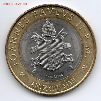 Иностранные монеты, Экзотика, Ватикан - img327