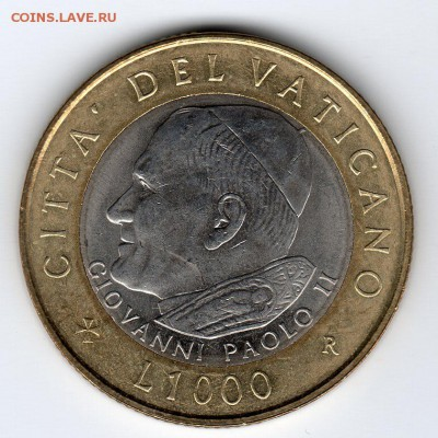 Иностранные монеты, Экзотика, Ватикан - img328
