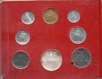 Иностранные монеты, Экзотика, Ватикан - img030