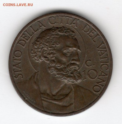 Иностранные монеты, Экзотика, Ватикан - img305