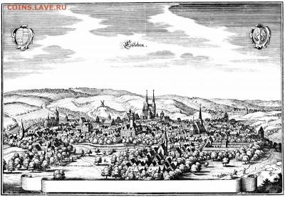 Частные выпуски нотгельдов Германии. Обзорная тема. - Айслебен в 1647 году
