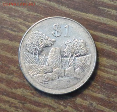 ЗИМБАБВЕ - $1 ОРЕЛ до 7.03, 22.00 - Зимбабве 1 доллар 2001