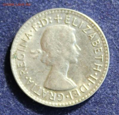 С 1 руб. АВСТРАЛИЯ 3 пенса 1963г. ЛИЗАВЕТА до 18.03 в 22-00 - IMG_5071.JPG