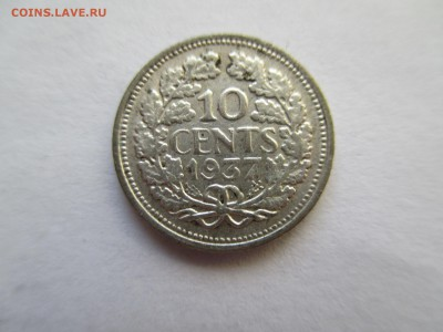 Нидерланды 10 центов 1937 - IMG_0373.JPG