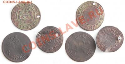 монетовидные жетоны украшения. - 210