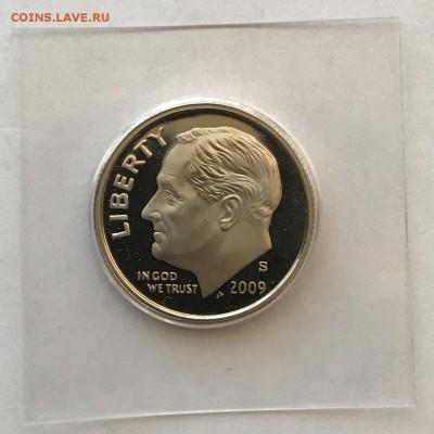 США, 10 Центов, 2009-S, пруф - IMG_0803.JPG