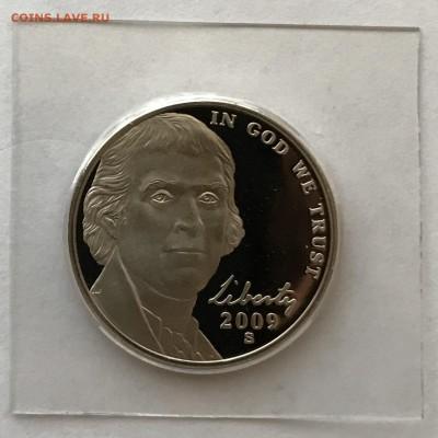 США, 5 Центов, 2009-S, пруф - IMG_0807.JPG