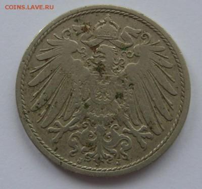 Германия, иностранщина (наборы, на вес, евро), царизм, СССР. - 10 пф 1901 J - 2.JPG