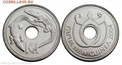 Монеты с отверстием в центре - 1 кина 2004