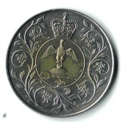 Оцените 2 пенни (монета без номинала) - Монетка