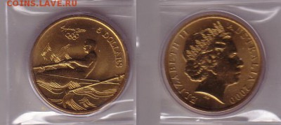 Австралия 5$ долларов 2000 Гребля - гребля.JPG
