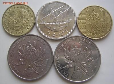 Что попадается среди современных монет - 2017 иностр