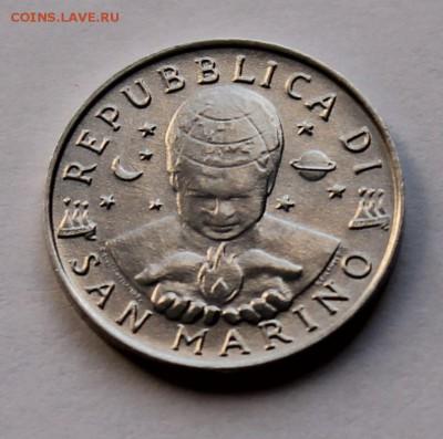Сан Марино 5 лир 1997. - 8