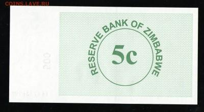 ЗИМБАБВЕ 5 ЦЕНТОВ 2006 UNC - 2 001