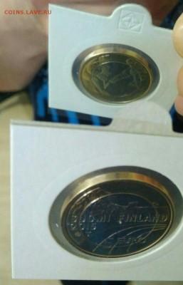 браки на евро монетах - перепутка_хоккей 2015