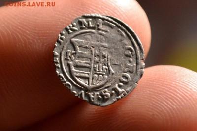 Денарий. Матвей II Король Венгрии 1608 — 1618 - CSC_0015.JPG