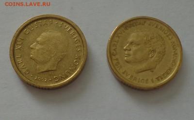 ШВЕЦИЯ - 10 крон два типа до 4.06, 22.00 - Швеция - 10 крон два типа