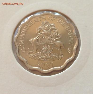 10 центов Багамы 2007г. , UNC , до 05.06.17г. - Багамы 10 ц-1