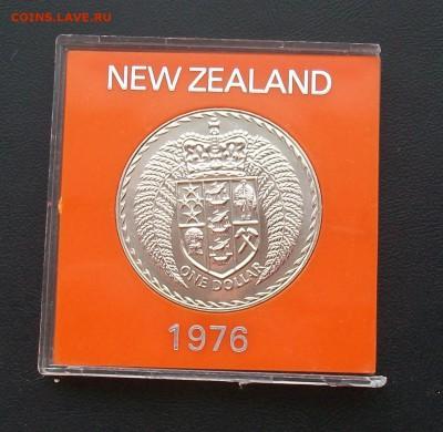 Новая Зеландия 1$ доллар 1976 Герб Крона Шайба - 100_6764
