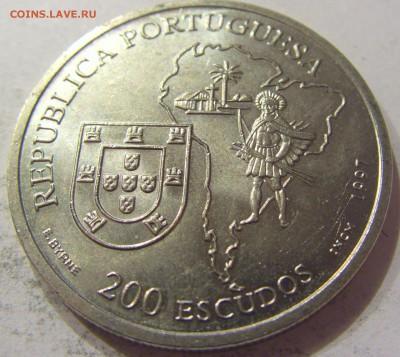 200 эскудо 1997 Анчетта Португалия №1 09.06.2017 22:00 МСК - CIMG4509.JPG