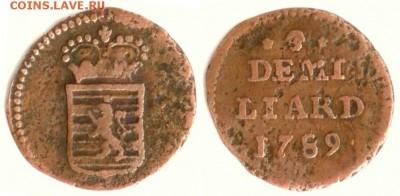 Люксембург - Люксембург 1.2 лиарда 1789 (b) KM-10