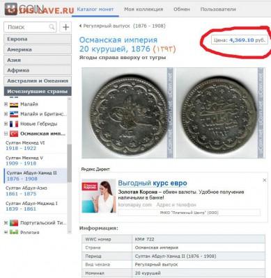 Интернет-ресурсы для опредления и оценки монет - 15