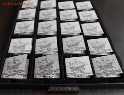 Квадратные капсулы для монет QUADRUM - IMG_4293