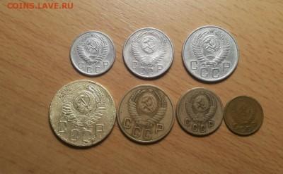 годовой комплект 1954г -1,2,3,5,10,15,20 коп до 23 июня блиц - 1954 годовой 1 2