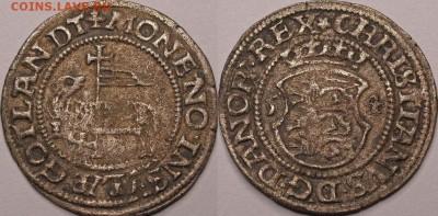 Дания - Skilling-Christian III (1534-59)