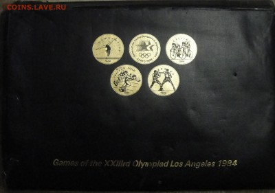 США. Жетоны к Олимпийским Играм 1984 (22 из 24) - DSC00322.JPG
