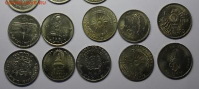 1 Бат Таиланд - 20 разных монет - Таиланд 4.JPG