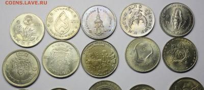 1 Бат Таиланд - 20 разных монет - Таиланд 3.JPG