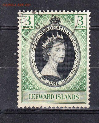 Левард острова 1953 коронация 1м - 208