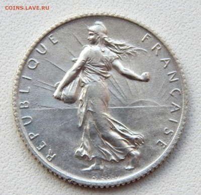 Франция 1 франк 1915 до 5.07.17 - DSCN6979.JPG