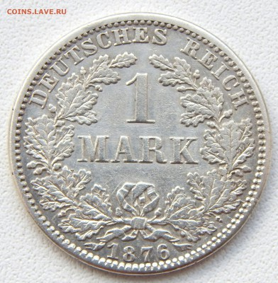 Пруссия 1 марка 1876 до 5.07.17 - DSCN6984.JPG