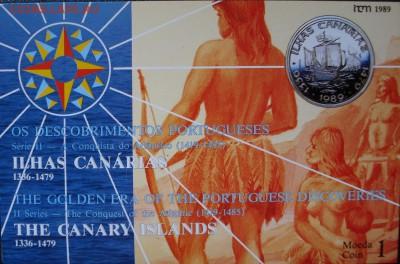 Португалия 100 эскудо 1989 Канарские о-ва БУКЛЕТ! - 1 (1).JPG