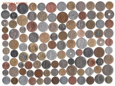 Иностранные монеты 113 шт. до 4.08 в 22.00 - 12