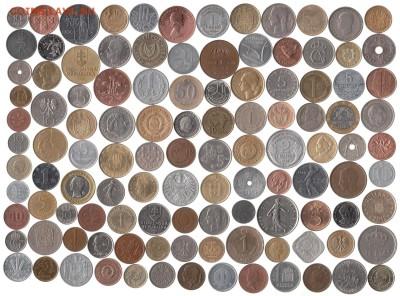 Иностранные монеты 113 шт. до 4.08 в 22.00 - 11