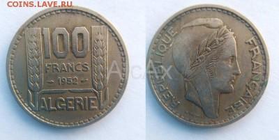 Алжир 100 франков 1952 KM# 93 до 13.08 - 53329220