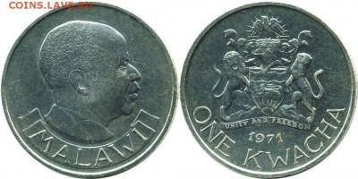 Крона Шайба Малави 1 квача 1971 - krona_shajba_malavi_1_kvacha_1971