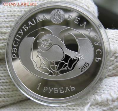 Беларусь, 1 руб. 2015 Сова Птица года 18.08 22.00 - 6