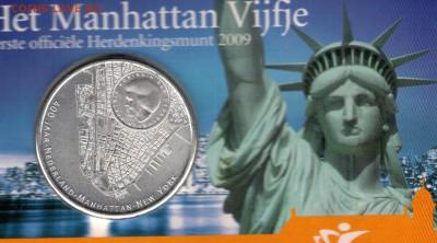 Нидерланды 5€ 2009 Манхэттен до 04.09.17 в 22.00мск (Е227) - 5-н5
