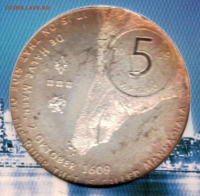 Нидерланды 5€ 2009 Манхэттен до 04.09.17 в 22.00мск (Е227) - 5-н5а